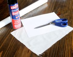 DIY Fabric Printing using spray adhesive, card stock and light-weight fabric