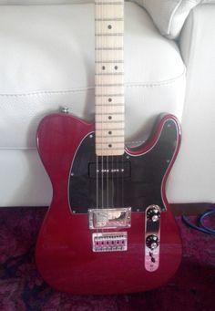 Fender Telecaster Blacktop Mexico CAR MN