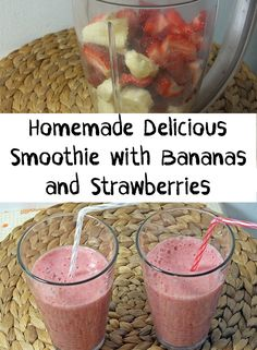After drinking a lot of healthy juices and smoothies that are not so delicious, I think that from time to time we deserve to drink a delicious smoothie.