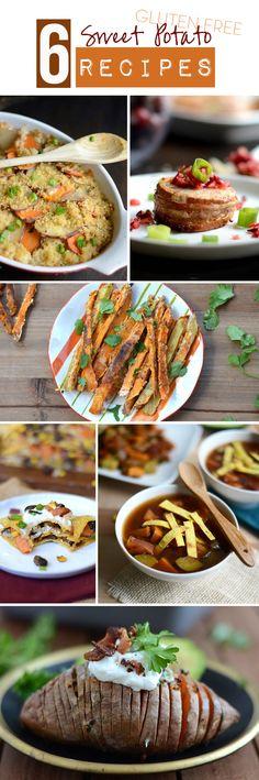 6 Gluten Free Sweet Potato Recipes #fitfluential #EAT #glutenfree