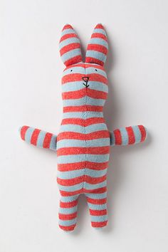 Confectionary Wool Bunny #anthropologie