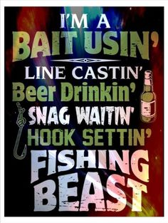 Improve Your Angling With These Fishing Tips Usa Fishing, Bass Fishing Shirts, Fishing Signs, Fishing Quotes, Gone Fishing, Fishing Humor, Fishing Stuff, Fish Tales, Fish Camp
