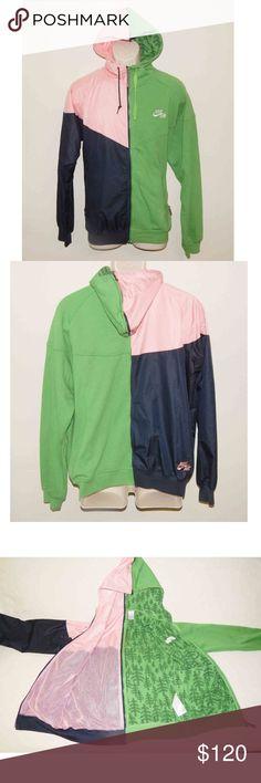633b22e00b6 Nike 90 s Windbreaker Womens Hoodie Jacket Condition  Pre-owned Very Rare  1990 s Custom Half