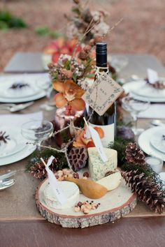 Florals: DAISYCHAINS & PAPERPLANES - Winter wedding inspiration by Make Hey (Styling & Stationery) + Bespoke Photography - via Magnolia Rouge