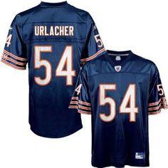 d36e91a34 Brian Urlacher Jersey  Reebok Navy Replica  54 Chicago Bears Jersey -  XX-Large - Official NFL T-Shirts and Hoodies at 5Star-Sports.net