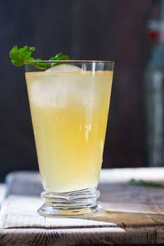 Slik lager du din egen gingerbug for å lage fermentert ingefærøl - Gry Hammer Fermented Foods, Pint Glass, Drinks, Tableware, Smoothie, Velvet, Drinking, Beverages, Dinnerware