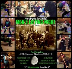 I know I should stop being surprised because this community has so much heart and soul but WOW: -8 with the windchill and we still had 16 wolves howlin' proud at Men's Lifting Night!!  That 16 included 3 first timers who had the courage and fortitude to run with The Pack on this cold and bitter winter night. The coolest part? By the end of the night almost everyone was down to their t-shirts and sweating; that's the power of quality movement!  It was perfect ending to an amazing day here at…