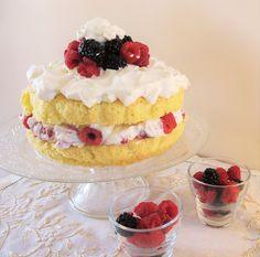 Tritxo Recetas: Sponge cake de moras & frambuesas