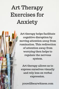 Art therapy helps facilitate cognitive disruption by moving attention away from . - Art therapy helps facilitate cognitive disruption by moving attention away from rumination. Therapy Worksheets, Art Therapy Activities, Play Therapy, Trauma Therapy, Peak District, Handout, Coaching, Creative Arts Therapy, Psychological Effects