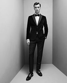 Fucking Young! » De Fursac Fall/Winter 2013 Lookbook >> #menswear #tuxedo #suit