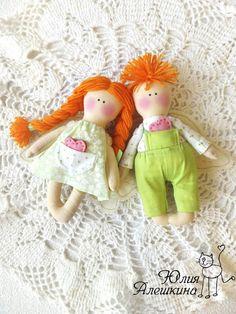 Aleshkina Julia. Brinquedos artesanais: Dolls
