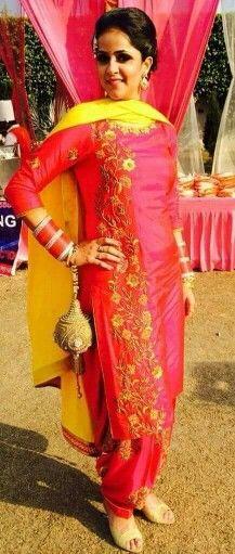 get this beautiful suit @nivetas beautiful colour combination and embroidery    whatsapp +917696747289 visit us at  https://www.facebook.com/punjabisboutique we provide world wide Delivery Punjabi Suit, Punjabi patiala salwar suit, suits, Indian fashion, boutique suits