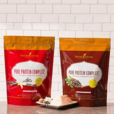 Description direct from Young Living customer service to  you! Pure Protein Complete™ is a comprehensive protein supplement that combines a proprietary 5-protein blend, amino acids, and ancient peat and apple extract to deliver 25 grams of protein per serving. Its foundation of protein from whey, goat's milk, peas, egg whites, and organic hemp seed provides a full range of amino acids, including D-aspartic acid, threonine, L-serine, glutamic acid, glycine, alanine, valine, methionine…