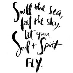 @inshaalkhizar smell the sea feel the sky let your soul and spirit fly.