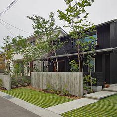 Dry Garden, Plant Design, Pavement, Urban Design, Landscape Architecture, Design Projects, My House, Planters, Exterior