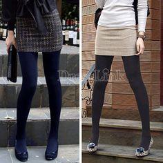 Winter Fashion Slim Fleece Tights Pantyhose