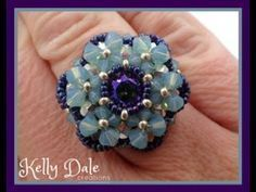 This tutorial from PotomacBeads shows you how to make our 'Crystal Lace' bracelet using Miyuki seed beads, and your choice of other beads or crystals (can ac. Beaded Bracelets Tutorial, Earring Tutorial, Jewelry Making Tutorials, Beading Tutorials, Beaded Rings, Beaded Jewelry, Wire Jewelry, Craft Jewelry, Jewelry Patterns
