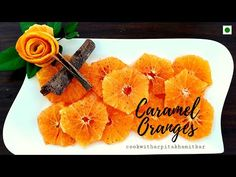 Caramel Oranges | Orange Dessert - YouTube:- A super easy dessert which can be enjoyed anytime of the day. #carameloranges #orangedessert #dessert #healthy #caramelorange #caramalizedorange #caramalisedoranges #caramalizedorange #caramalizedoranges #orange #oranges Orange Dessert, Dessert Healthy, Easy Desserts, Super Easy, Caramel, Cooking Recipes, Canning, Tableware, Youtube