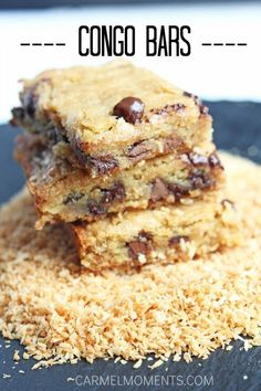 BARS & BROWNIES... on Pinterest | Brownies, Pecan Pie Bars and Bar