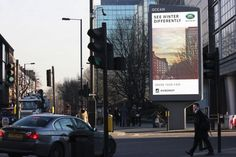 Land Rover #Hibernot campaign goes OOH with Instagram-style live filters | The Drum