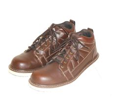 Brahma Men's Brown Oxford Lace Up Ankle Boot Size 9.5 #BRAHMA #AnkleBoots