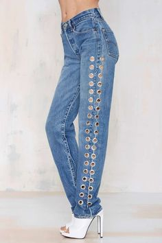 After Party Vintage Rebel Rebel Jeans | Shop Clothes at Nasty Gal!