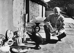 Spending his Summers at the French Riviera, Pablo Picasso found that working with clay was a relaxing summer respite from the more strenuous demands of painting. Full of Joie de vivre, his ceramic explorations have a beautiful, whimsical sense of freedom.
