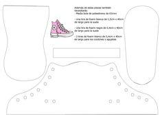 Como hacer zapatillas de deporte Converse en miniatura | El Mundo de Isa