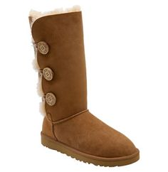 I am going to make my baby girls some suede boots for our fall pictures and I like the idea of having button closures instead of a zipper on the side.