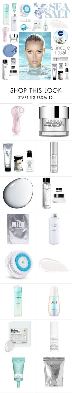 """Hello,Flawless:Skincare"" by shangalairina ❤ liked on Polyvore featuring beauty, Clarisonic, Clinique, Bobbi Brown Cosmetics, Clé de Peau Beauté, Nivea, Lapcos, Too Faced Cosmetics, Laneige and Neutrogena"