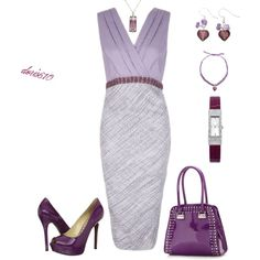 Purple by doris610 on Polyvore featuring мода, Enzo Angiolini, Star by Julien Macdonald, Oasis and Martick
