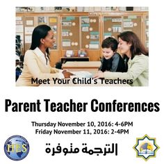 Parent Teacher Conferences What will the teacher ask me? Teachers like to learn about students from their parents. No one knows your child better than you do. You can help the teacher by talking about: What your child likes to do? Events that may affect your child (such as a new baby divorce or death) Special medical or learning needs Before the conference Ask your child how she feels about school. Ask your child if there is anything that he wants you to talk about with his teacher. Tell…