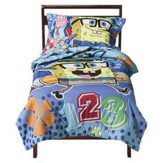 Nickelodeon Spongebob 4-piece Bed Set - Toddler : Target Mobile