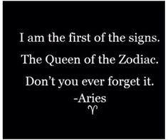 ARIES ~ This pretty much sums it up! Lol ;)