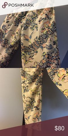 Pants Almond blossom pants Pants Trousers