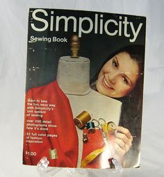 Simplicity Sewing Book Magazine 1969 by JaneStreetMarket on Etsy, $8.99