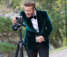 How to wear a suit like David Beckham | Shop now at The Idle Man | #StyleMadeEasy #DavidBeckham