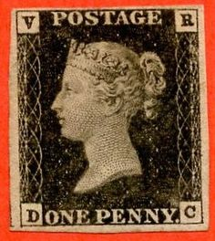 This 1d. black stamp with VR in the upper corners was prepared in 1840 but never issued. An exceptional stamp and one of the rarest of the Officials. Available from Paul Fraser Collectibles for £14,995 #stamps #philately