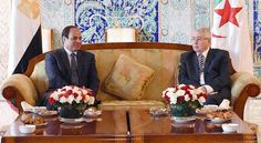 Sisi arrives in Algeria's first foreign visit in order to counter terrorism