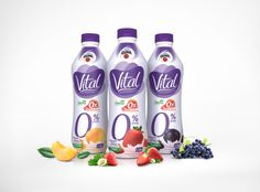 Yogur Vital por David Gutiérrez, a través de Behance