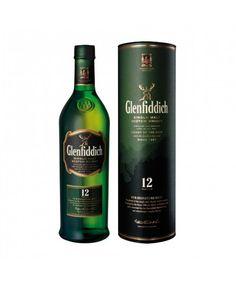 Glenfiddich 12 Years Single Speyside Malt 0,7 Liter