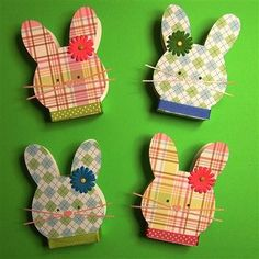 Cute Easter treat boxes.