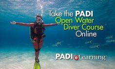 PADI Open Water Diver eLearning Code - Start Online Scuba