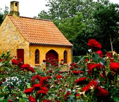 Red Rose Cottage, Great Britain  photo via lovelie