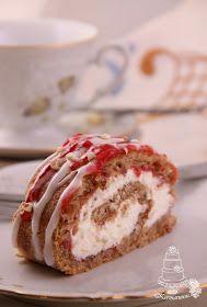 Kermaruusu: Runebergin kääretorttu Vanilla Cake, Doughnut, Muffin, Bread, Baking, Breakfast, Desserts, Food, Morning Coffee