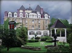 The Cresent Hotel & Spa - Eureka Springs, AR: Built in 1886, it is supposed to be America's most haunted hotel.  Maybe not the place to actually stay the night...