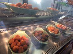Brazilian finger foods! Coxinhas, cheese balls and kibes!