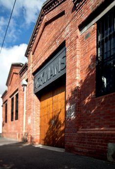 Image result for beautiful brick warehouse facade