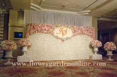 Flower photobooth for gold & peach wedding Wedding Photo Booth, Wedding Photos, Wedding Ideas, Flower Wall, Gold Wedding, Valance Curtains, Flower Arrangements, Bing Images, Backdrops