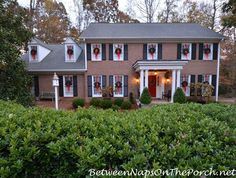 Decorate with Wreaths on Exterior Windows